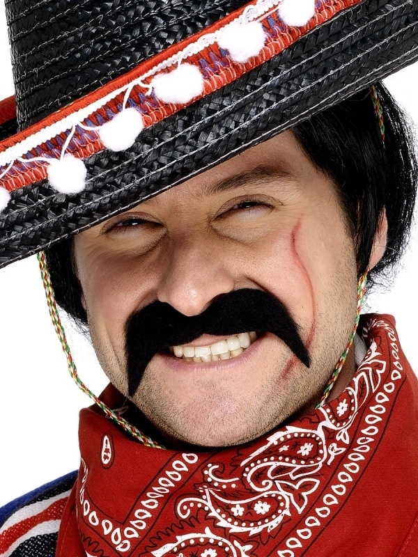 Mexicaanse snor bandiet