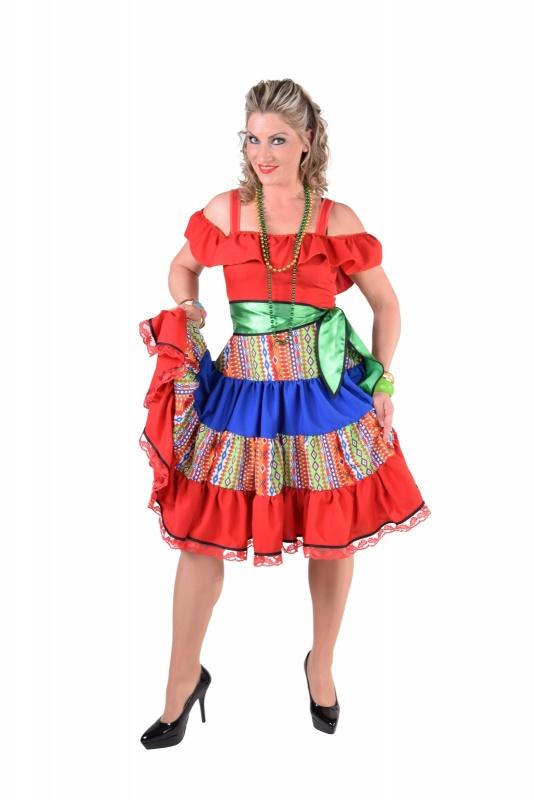 Mexicaanse Inka jurk