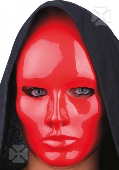 Masker red face