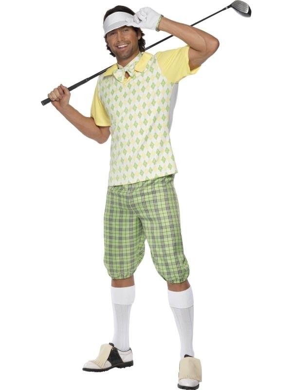Kostuum Golfspeler Woods