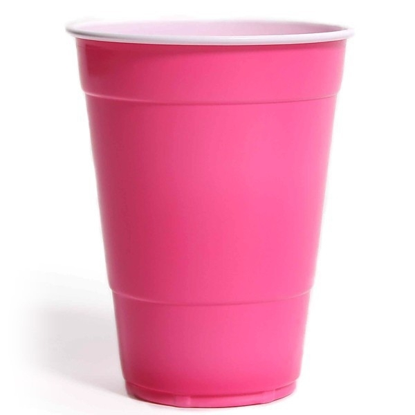 Bekers Amerika roze