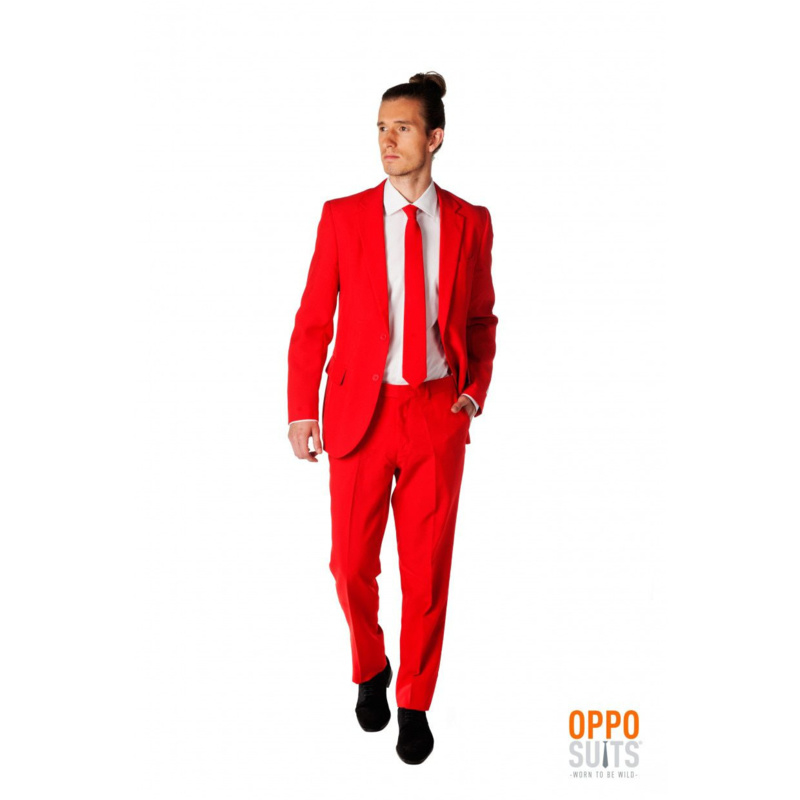 Red devil opposuits kostuum