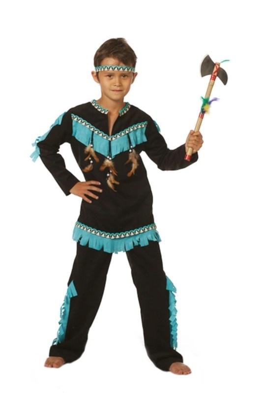 Indianen jongen Wishborne