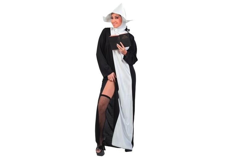 Sexy Nonnen kostuum
