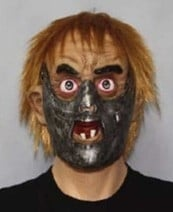 Hannibal Lector masker