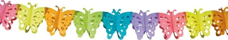 Multicolor vlinder slinger