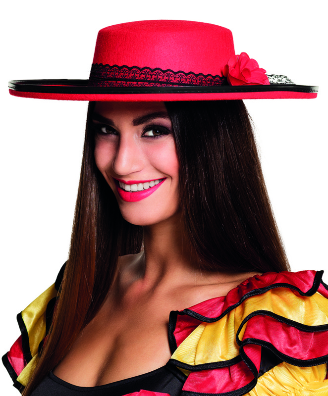 Spaanse hoed senorita