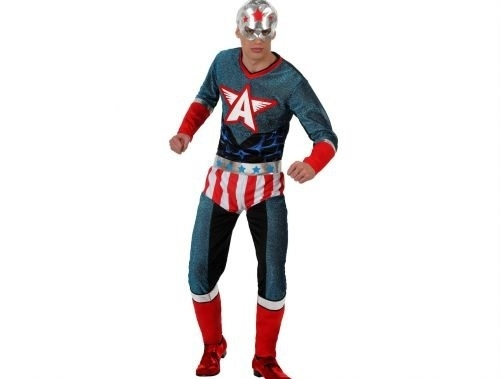 Captain America jumpsuit