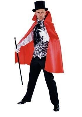 Dracula cape met vestje