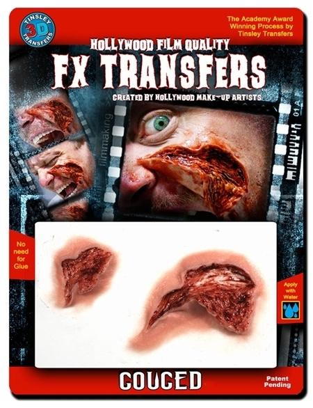 3D transfer open wound