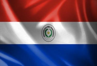 Vlag Paraguay 90x150cm