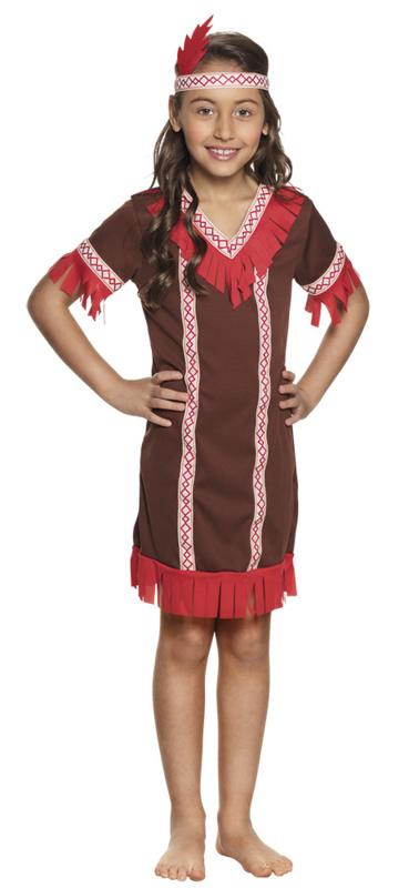 Indianen jurkje kids Fox