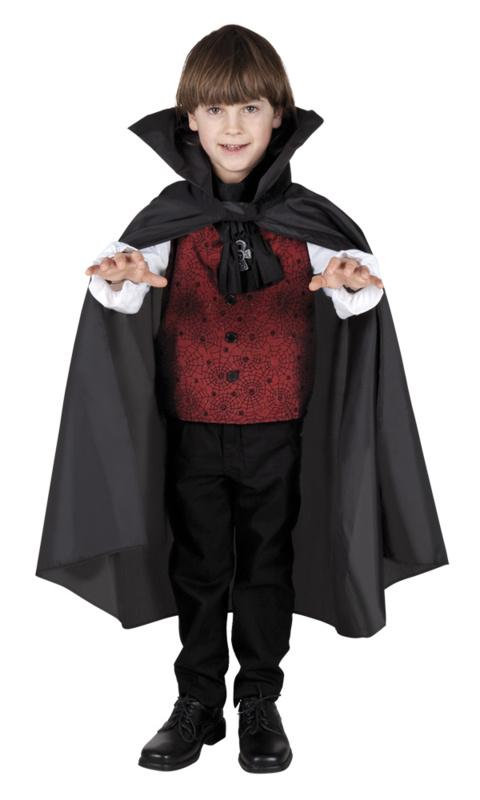 Kindercape nightfall zwart