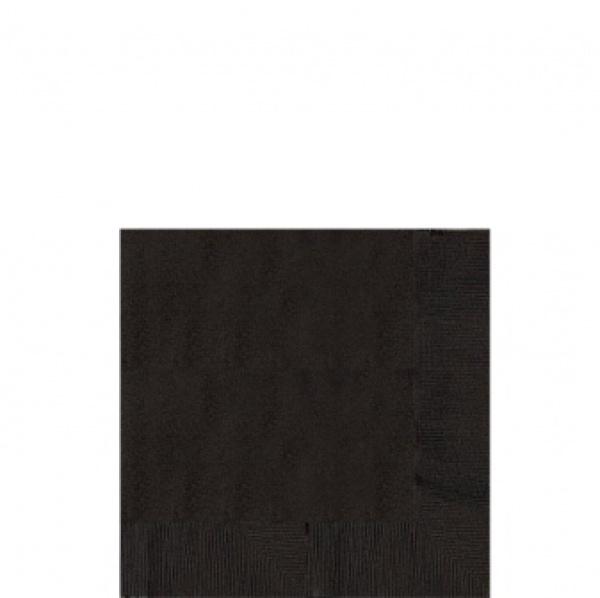 Servetten zwart