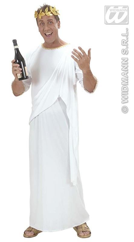 Witte toga romeinse heer