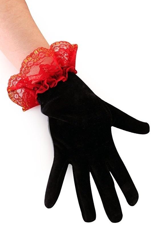 Handschoenen kant day of dead