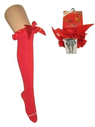 Britney kousen met strik rood