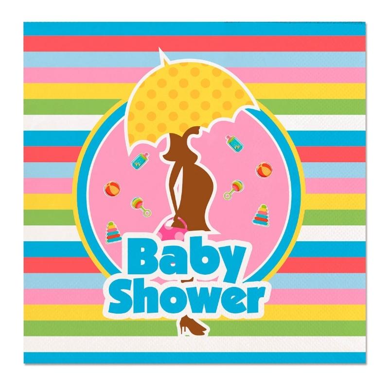 20 stuks servetten Babyshower