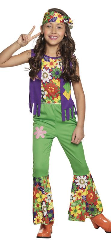 Woodstock hippie kostuum kids