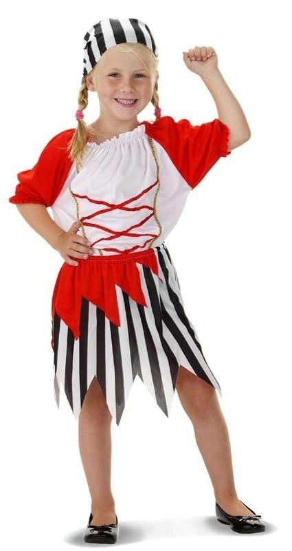 Piraten jurkje easy