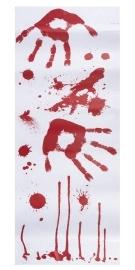 Stickers met bloed