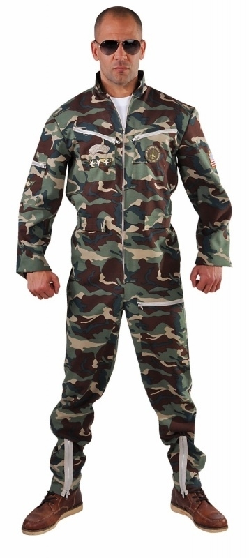 Camouflage overall piloot