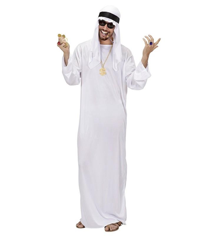 Oliesjeik kostuum arabica