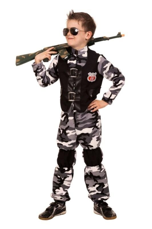 Combat zone overall