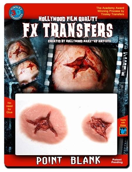 3D transfer bulletwound