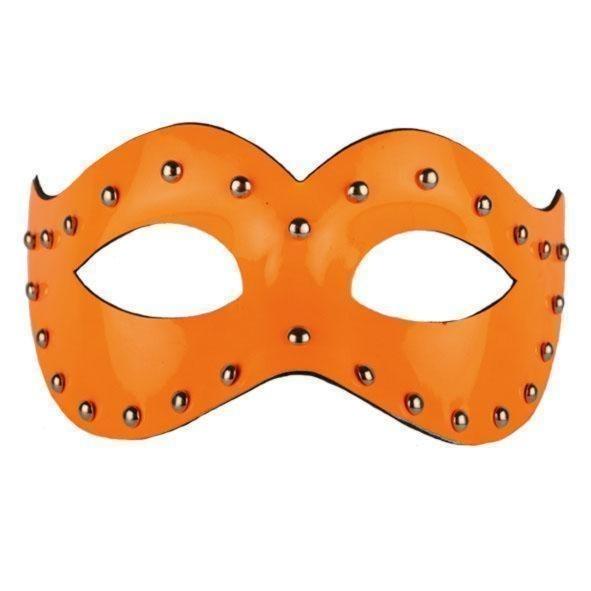 Oogmasker fluor oranje luxe