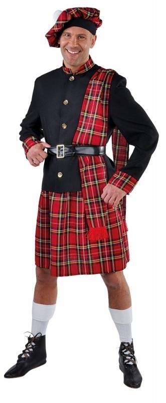 Schots kostuum Deluxe