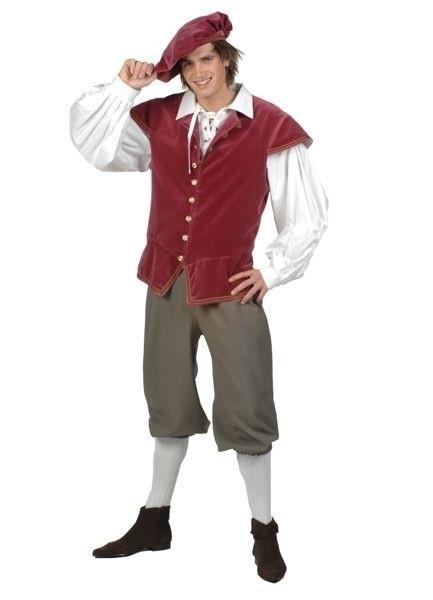 Kostuum Middeleeuwse knecht