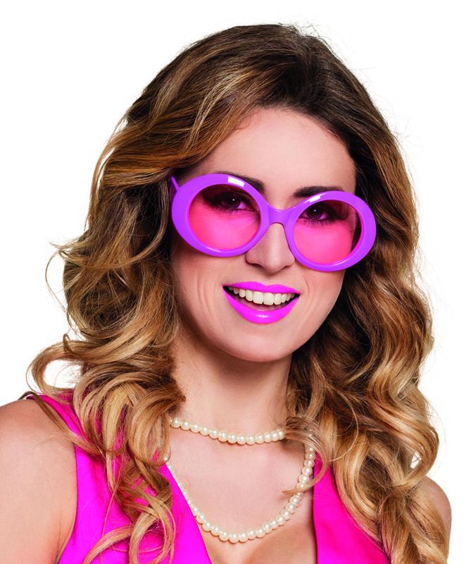 Bril Jackie neon pink