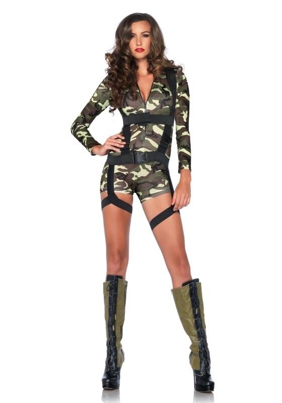 Commando girl hot