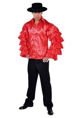 Samba shirt Rood