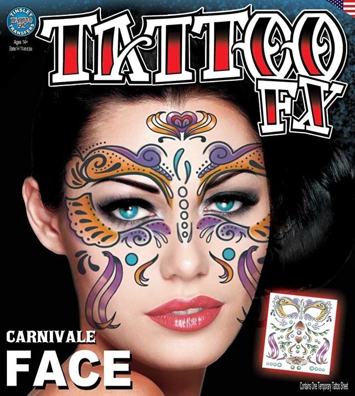 Face Tattoo Carnivale