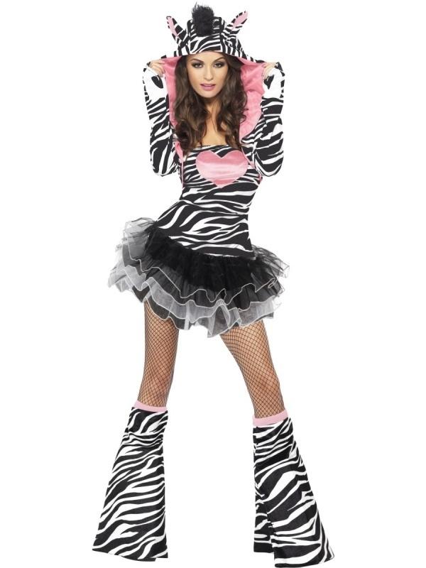 Zebra jurkje compleet