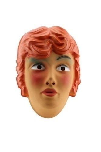 Masker mooie vrouw