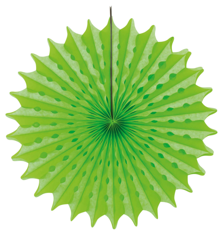 Groene honeycomb deco