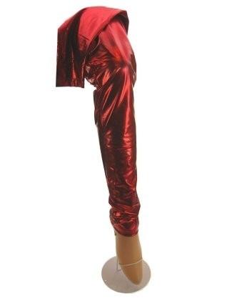 Legging rood metallic