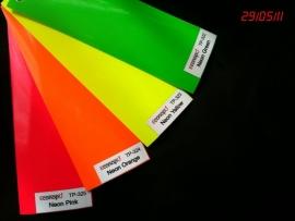 Textiel snij flex lage temperatuur NEON kleuren.