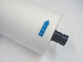 Mighty rolfilm voor autolaminator en rollaminator 125 micron mat.