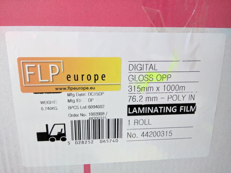Glans BOPP film.