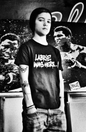 "Junior T-shirt ""Labrie was here..!"""