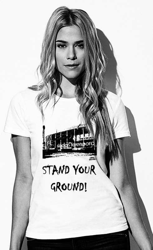 "Women's T-Shirt ""Stand your ground!"""