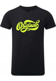 Amsterdam Original, zwart neon geel