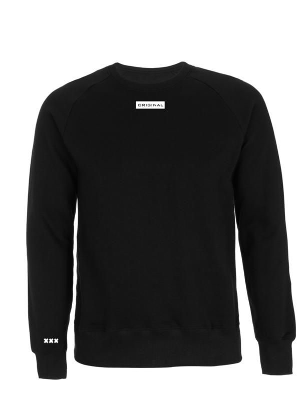 Original, zwart wit kader