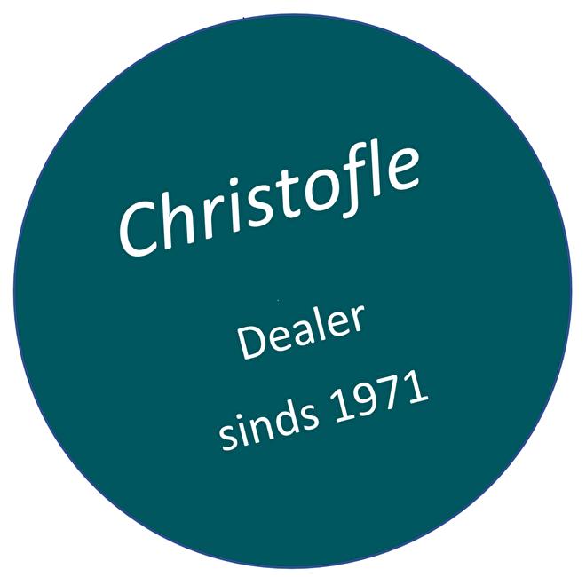 Christofle dealer sinds 1971