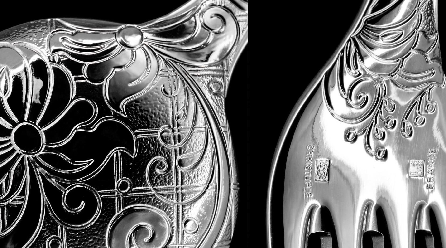 Jardin Eden detailfoto lepel en vork