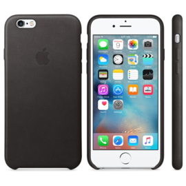 iPhone 6S Leather Case Zwart - Excl. 39,00